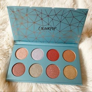 NEW Colourpop Semi Precious Eyeshadow Palette